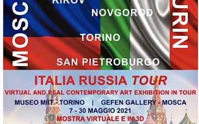 'ITALIA RUSSIA TOUR MOSCOW-TURIN' – DAL 7 AL 30 MAGGIO 2021